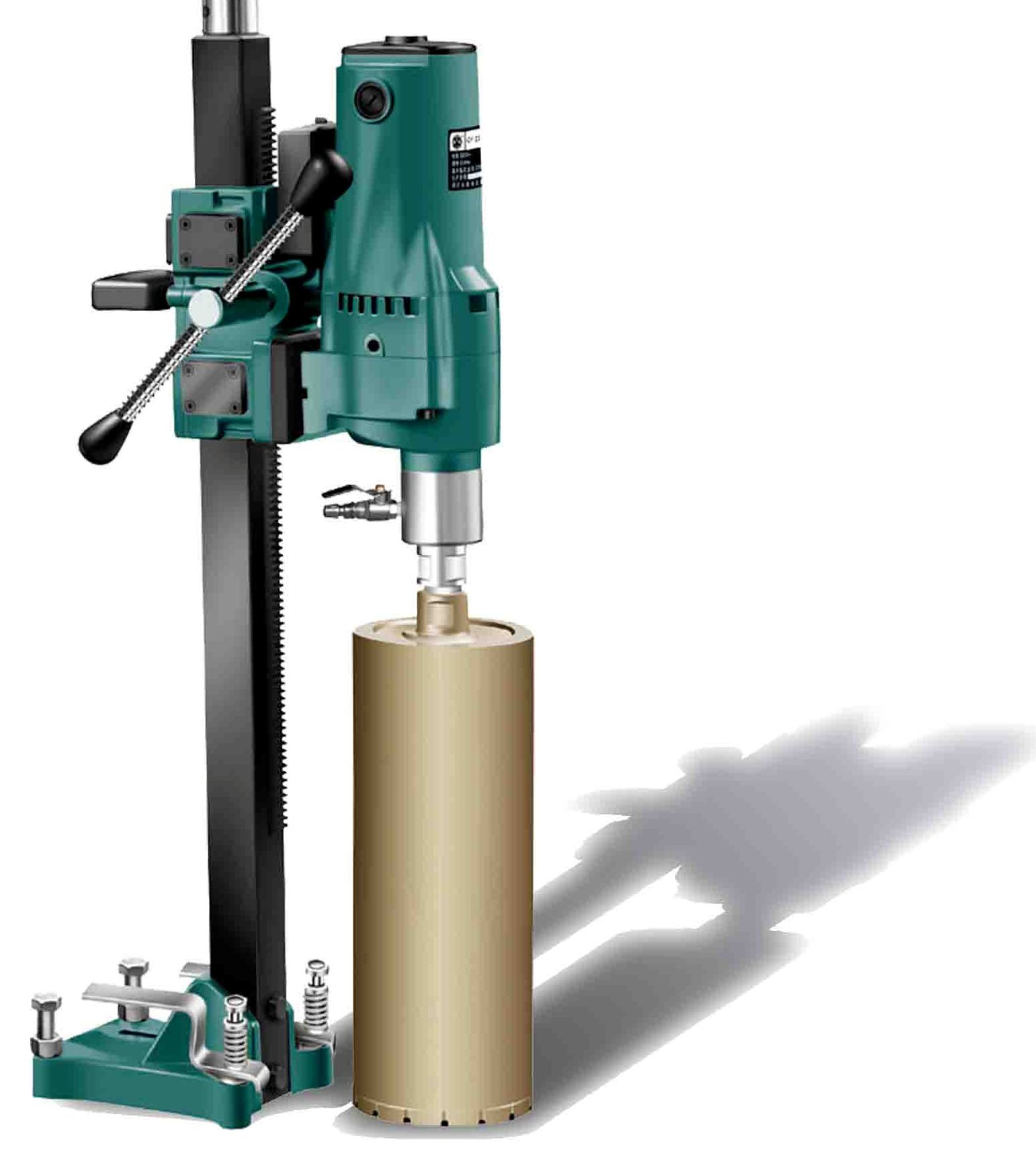 Wood Lifting Devices : Diamond core drill jzx power tools engineering
